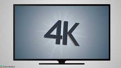 شکل- تلويزيون 4K