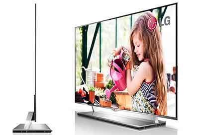 شکل- ضخامت و وزن- تلویزیون OLED اولد