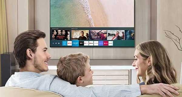 شکل – سیستم عامل تایزن در تلویزیون های سامسونگ